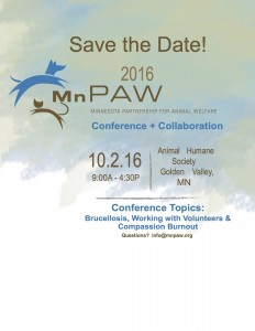 2016 MNPAW_Save the date
